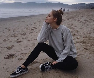 beach, vans, and alternative image