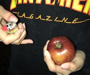 apple, high, and hoodie image
