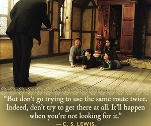 narnia, quotes, and try again image