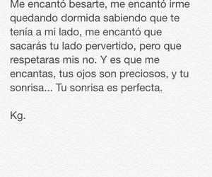 amor, frases, and Él image