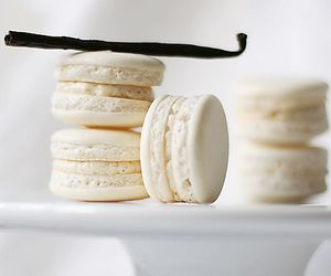 macaroons, sweet, and white image