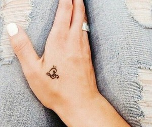 heart, little tattoo, and idea image