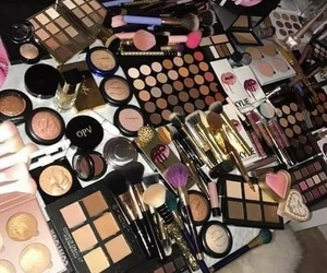 makeup, beauty, and collection image