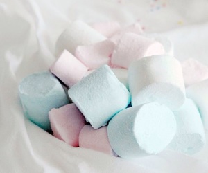 marshmallow and pastel image