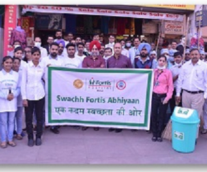 healthcare and cleanliness drive image