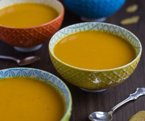 coconut, curry, and soup image