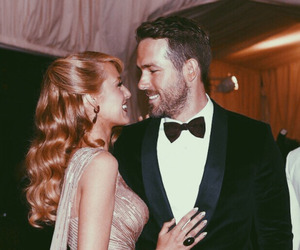 blake lively, couple, and ryan reynolds image