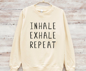 etsy, christmas sweater, and inhale image