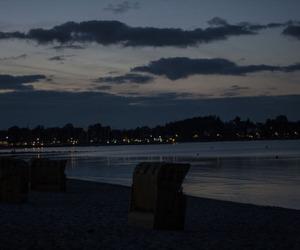 dark, landscape, and night image