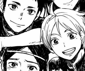 hq, manga, and haikyuu image
