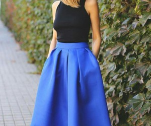 formal outfit and blueforeverblue image