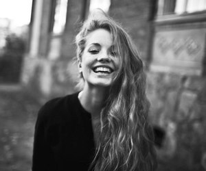 girl, smile, and beautiful image