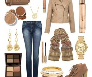 accessories, brown, and outfit image