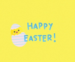 easter, egg, and happy easter image