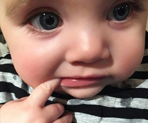 baby, beautiful, and cute image