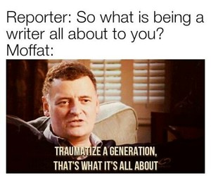 doctor who and moffat image