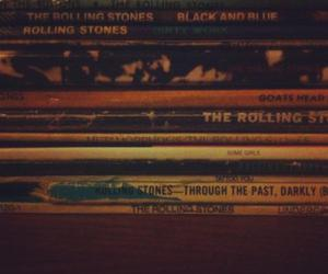 records, vinyls, and the rolling stones image