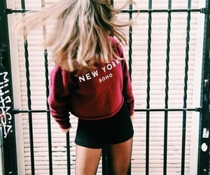 red, style, and tumblr image