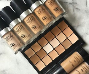 makeup, Foundation, and beauty image