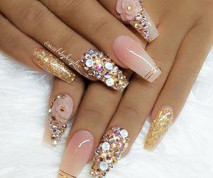 beauty, elegant, and glitter image