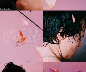 aesthetic, grey, and Harry Styles image