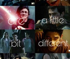 harry potter, merlin, and teen wolf image