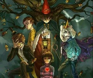 gravity falls, adventure time, and dipper pines image