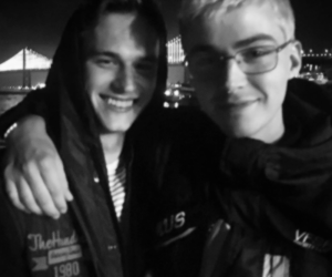 cast, 13 reasons why, and miles heizer image