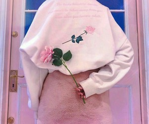 pink, aesthetic, and rose image
