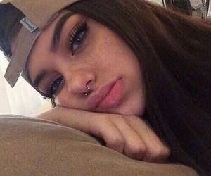 girl, tumblr, and lips image