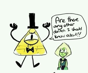 funny, gravity falls, and bill cipher image
