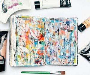 art, creative, and notebook image