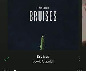 bruises, music, and spotify image