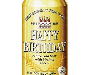 beer, birthday, and b'day image