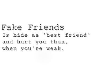 true, fake friends, and fuck fake friends image