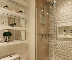 bathroom, decor, and apartment image