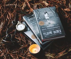 autumn, candles, and miss peregrine image