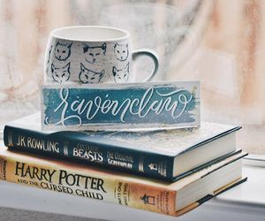 book, bookworm, and harry potter image