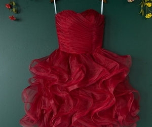 evening dress, formal dress, and graduation dress image