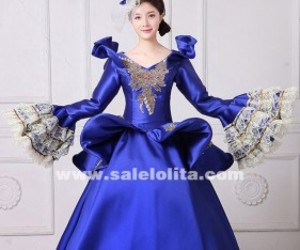 marie antoinette dress, southern belle dress, and masquerade ball gown image