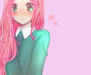 blush, manga, and manga girl image