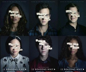hannah baker, 13+reasons+why, and zach dempsey image