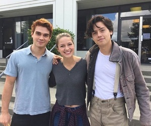 cole sprouse, riverdale, and kj apa image