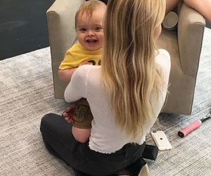 anne, baby, and hair image