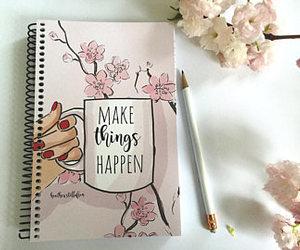 art, goals, and blossom image