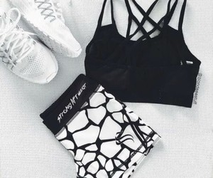 fitness, workout, and black and white image