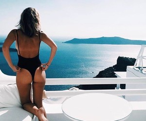 beauty, greek island, and perfect place image
