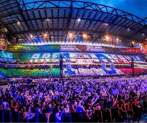 one direction, italy, and milan image