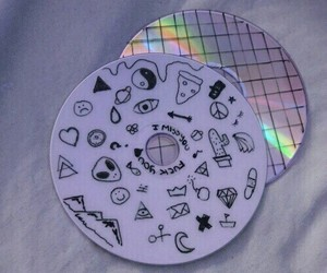 grunge, tumblr, and cd image