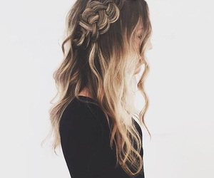 beautiful, hair, and hair style image